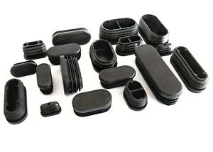 fe08231cbb8 Oval Oblong Blanking End Caps Rectangle Pipe Tube Insert Plugs Made ...