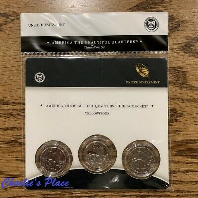 3 Coins US National Park Quarter 2013-P D S  BU Mint State Fort McHenry