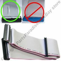 Lot10pcs 2.5ft Long 2device Fd/floppy Dual Drive Ribbon Cable/cord/wire 3.5inch