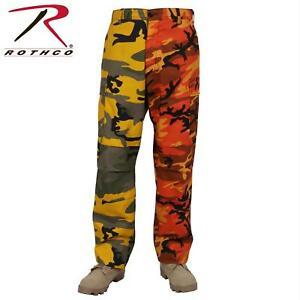 Rothco Two-tone Camouflage Tactical BDU Cargo Pants M Stinger ... 0c8c2638e5c