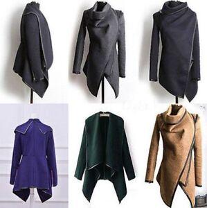 Women/'s Warm Wool Slim Long Trench Parka Peacoat Outwear Overcoat Coat Jacket