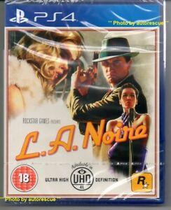 L-A-Noire-include-tutti-i-DLC-Plus-piu-034-NUOVO-amp-Sealed-039-PS4-quattro