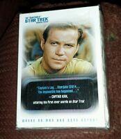 Quotable STAR TREK: The Original Series 110 CARD BASE SET Rittenhouse 2004