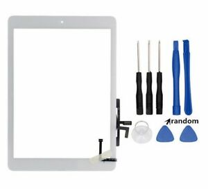 Touch-Screen-Digitizer-Glass-Home-Button-for-iPad-2017-5th-Gen-A1822-A1823