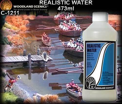 Woodland Scenics 1211  Realistic Water, 16 oz - NIB