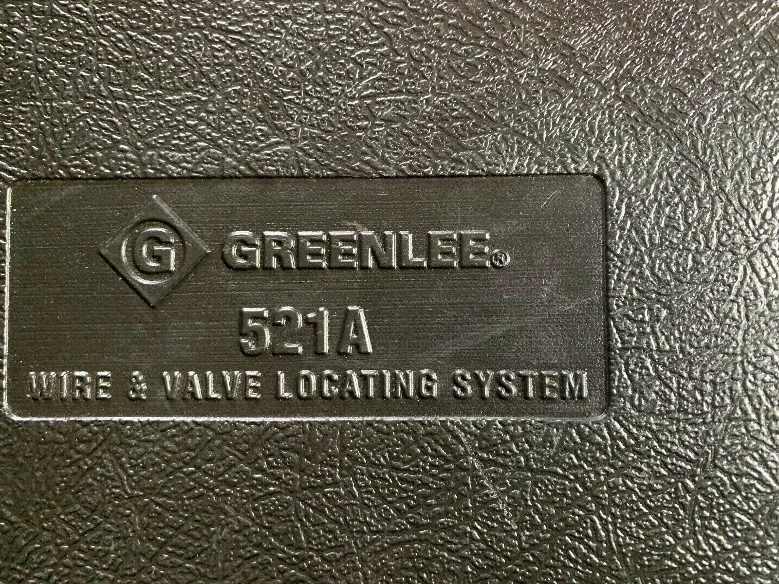 Greenlee 521a Wire And Valve Locator For Sale Online Ebay