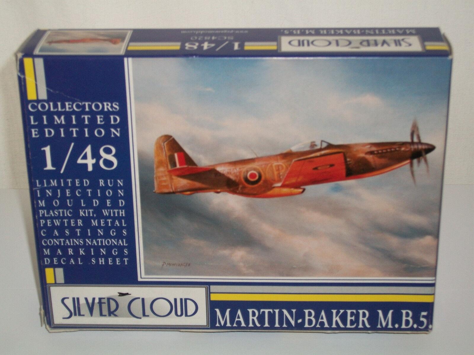 Zilveren Cloud 1 48 Scale Martin-Baker M.B.5