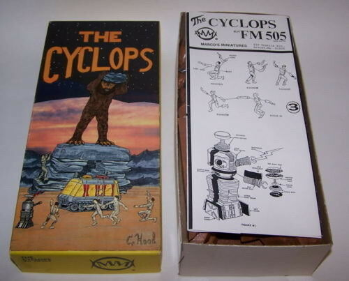 Cyclops FM 505 Resin Model Kit   64/500 Sci-Fi 1989 Marco NIB