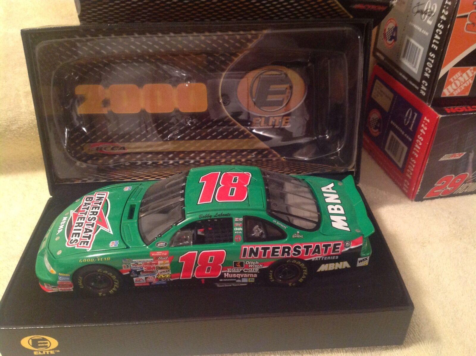 2000 Bobby Labonte Acción Elite Interstate Batteries 1 24