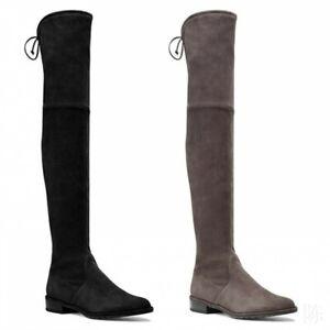 Size 12 Thigh High Flat Boots