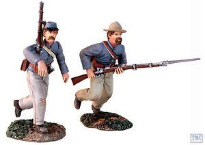 B31149 W.britain Au Double Rapide Ensemble 2 Pièces Guerre Civile Américaine