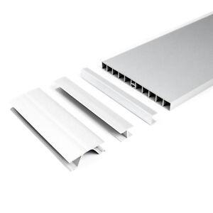 plinthe pvc pour cuisine couleur aluminium hauteur 150mm 1 5m protection ajouts ebay. Black Bedroom Furniture Sets. Home Design Ideas