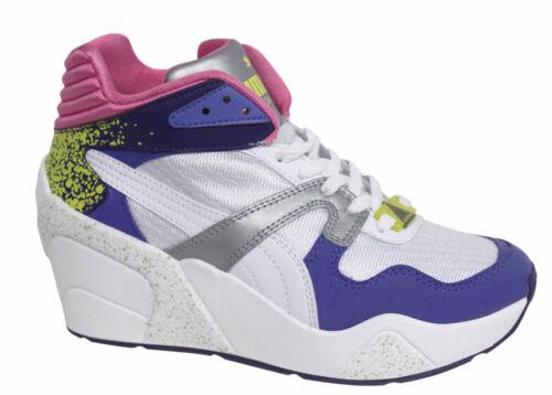 Puma Trinomic XS Wedge SC Lace Up Wedge Womens Trainers 357377 01 U116