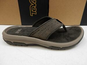 a1c500ae8dc Image is loading TEVA-MENS-SANDALS-LANGDON-FLIP-WALNUT-SIZE-12