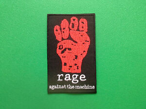 HEAVY-METAL-PUNK-ROCK-MUSIC-SEW-ON-IRON-ON-PATCH-RAGE-AGAINST-THE-MACHINE-a