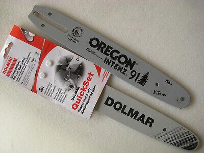 Dolmar PS-330 30cm SWS Forst Schwert Set mit 4 Sägeketten 3//8 45TG 1,3 mm p.f