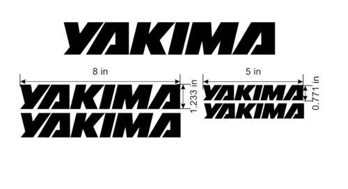 Lots of Colors Yakima Rack Fairing Replacement Decals Bike Ski Board Surf.