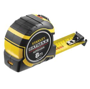 Stanley 033501 Fatmax Autolock Pocket Tape Measure Metric Only 8m Width 32mm
