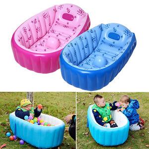 baby kinder wanne badewanne aufblasbar pool planschbecken schwimmbecken badesitz ebay. Black Bedroom Furniture Sets. Home Design Ideas