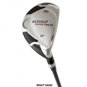 AGXGOLF-LADIES-LEFT-amp-RIGHT-HAND-3-HYBRID-IRON-wLADY-FLEX-GRAPHITE-SHAFT-COVER