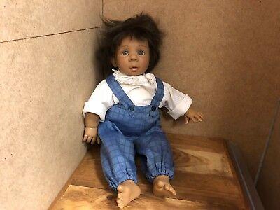 Top Zustand Jeckle Jansen Puppe Vinyl Puppe 43 Cm Dolls & Bears