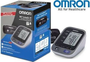 Omron-M7-Intelli-que-360-precision-parte-superior-del-brazo-Monitor-de-presion-arterial-Nuevo