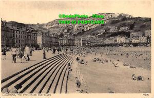 R399406 Llandudno The Promenade And Sands. V775. Photochrom Co. 1957
