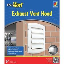 Dundas Jafine BPGH4WZW6 ProGard 4-Inch Exhaust Hood White