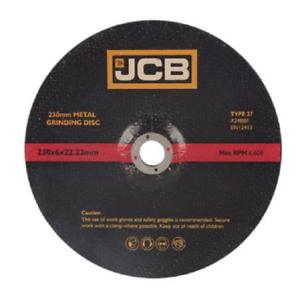 22-23mm-diametro-JCB-9-034-230mm-X-6mm-Metal-Disco-de-corte-034-8322-X-un-disco