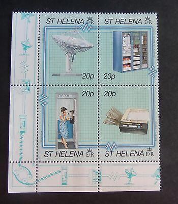 St Helena 1990 Modern Telecommunications SG566/9 MNH UM unmounted mint