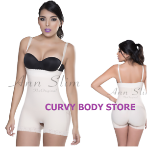 BUTT LIFTER BODYSHAPER AS3001 SIN COSTURA COMFY SHORT STRAPLESS MOLDS YOUR BODY
