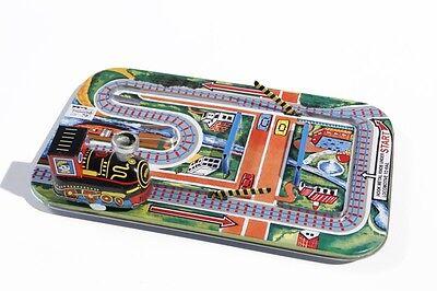 Eisenbahnen Blechspielzeug Blechspielzeug Kleine Eisenbahn Mit Schranken °° Tin Toy °° Jouet En Tôle °° Weitere Rabatte üBerraschungen EntrüCkung