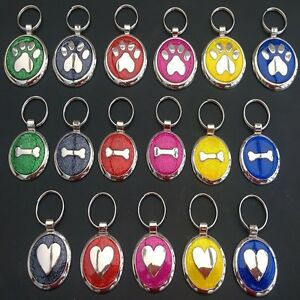 Glitter-Premium-Engraved-Pet-Tags-DOG-ID-Disc-Disk-25-amp-32mm-Quality-Puppy-Cat