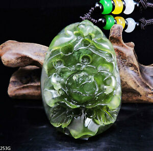 Traditional Chinese knotting artReady to shipstyle803 Natural Type A Jadeite Jade Bamboo Leaf Carving pendant simple adjustable necklace