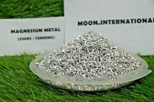 Magnesium Metal Turnings Shavings Not Powder Mg Metal 35oz 100g