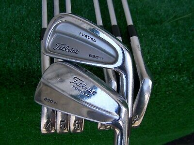 Titleist 690 CB 690 Mb Combo Forged Iron Set 3-PW Forged Blade Irons Rifle Stiff  | eBay