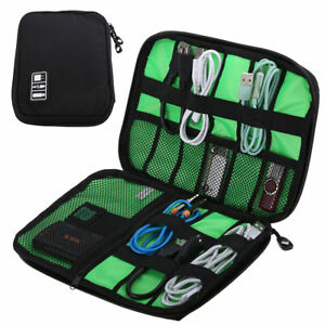 NEW-Electronic-Accessories-Cable-USB-Drive-Organizer-Bag-Travel-Insert-Case