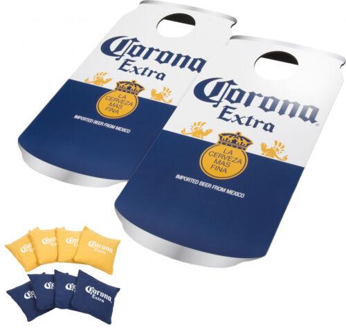 Bean Bag Toss Cornhole Game Set Tailgate Baggo Corona Bud Light Coca Cola Miller