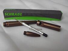 FIVE PENS (5) Schrade Tactical Ink Pen Survival Whistle Defense Tool SCPEN6BR