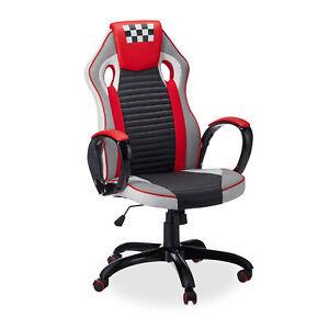 Drehstuhl Racing Sportsitz Gaming Stuhl Gaming Chair Computerstuhl Bürostuhl