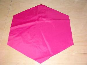 "Rip Stop Nylon Parachute 18"" Fuchsia"