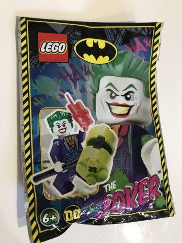 Lego Batman The Joker With Hammer And Dynamite Mini Figure Polybag