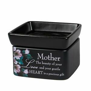 Mother-Beauty-Love-Black-Electric-2-in-1-Jar-Candle-Wax-Tart-Oil-Warmer