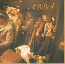 ABBA Abba Vinyl Record LP Epic S EPC 80835 1975 EX Yellow Label 1st Pressing