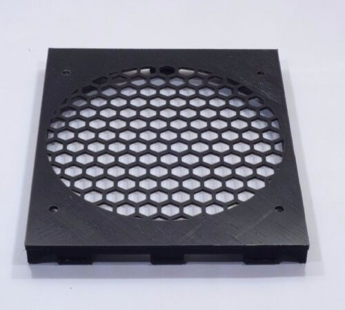 "Triple 5.25/"" to 120mm fan base honeycomb tray drive bay bracket 3 slot mod PC"