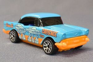 MATCHBOX-2004-Around-the-World-1957-Chevy-Chevrolet-Carhenge-Mail-in-RARE