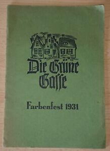 Rar-Die-Gruene-Gasse-Farbenfest-1931-Annette-von-Droste-Huelshoff-Schule-Muenster