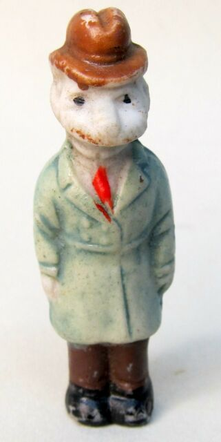 miniature ANDY GUMP 1930's comic character Japanese bisque figure 2.25""