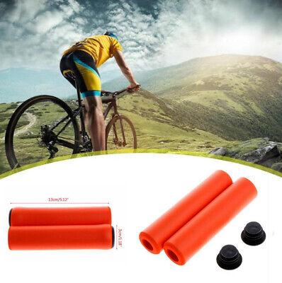 2PCS Bar End Handlebar Grips Cycle Bicycle Mountain Bike MTB Suipplies Useful G