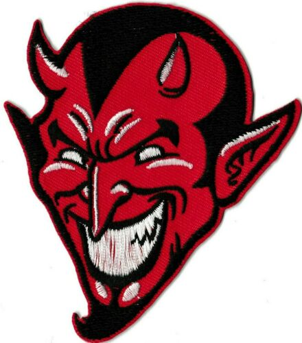 Patche Patch écusson Diable rouge red Devil thermocollant patch diablo